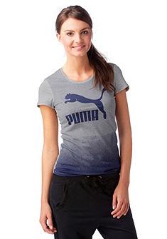 Puma Logo Tee Tri�ko
