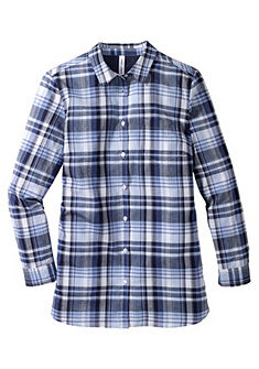 sheego Casual flanell blúz