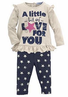 Klitzeklein póló & legging (szett, 2 részes), lány babáknak