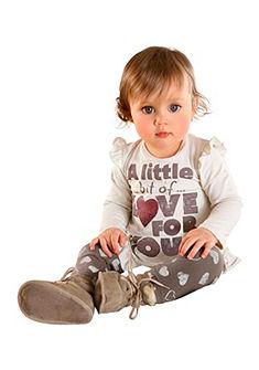 Klitzeklein Hosszú ujjú póló és legging (Szett, 2tlg.)