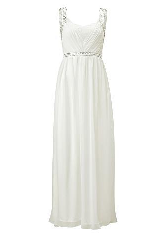 LAURA SCOTT EVENING Laura Scott Svatební šaty vlněná bílá - standardní velikost 34