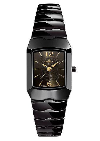 DUGENA Dámské náramkové hodinky, DUGENA černá - Dámské hodinky
