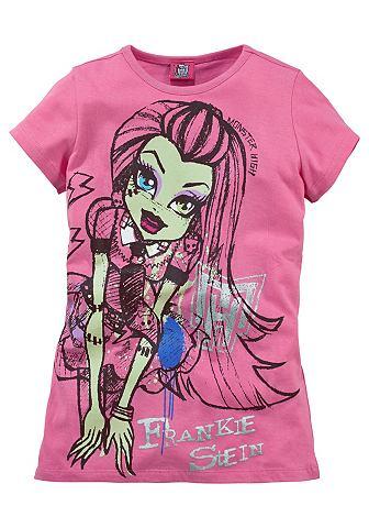 Monster High Monster High Tričko pro dívky pink - standardní velikost 152/158