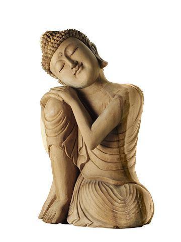 heine home Buddha přírodní - ca. 40x29x17 cm