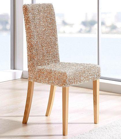 GAICO Strečový potah »Verona« velbloudí - potah na židli - z jednoho kusu
