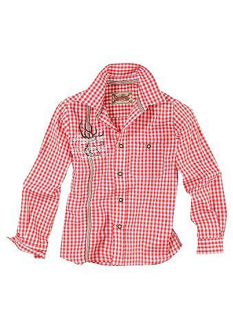 Stockerpoint Krojová košile pro děti červená 98/104