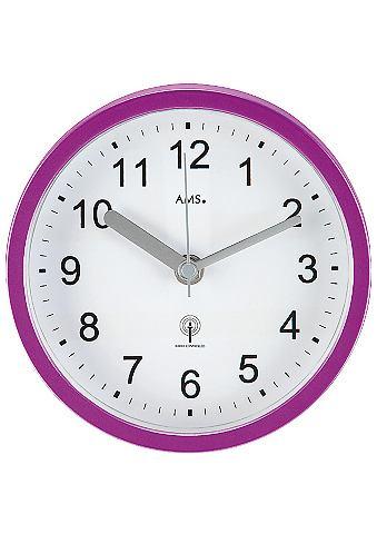 AMS Nástěnné hodiny, AMS fialová