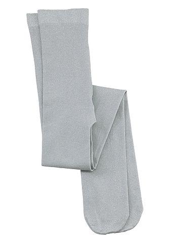 CFL CFL Punčochové kalhoty pro dívky stříbrná - standardní velikost 104/110