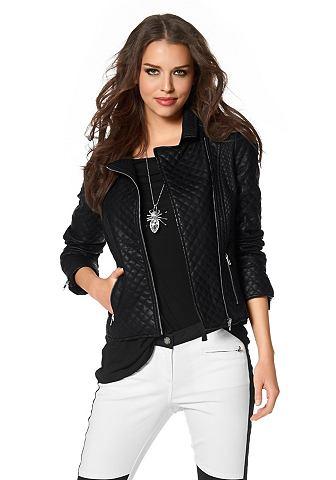 Laura Scott Laura Scott Motorkářská bunda černá - standardní velikost 46