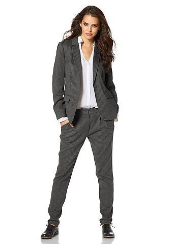 Laura Scott Laura Scott Kalhotový kostým (2 ks) šedá/s proužky - standardní velikost 46