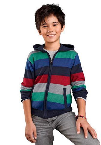 Arizona Pletený svetr s kapucí