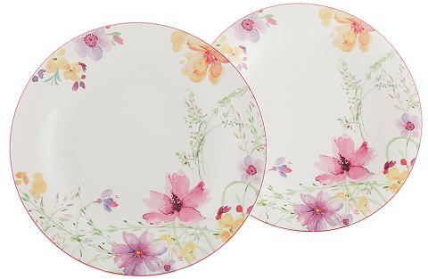Talíř, Villeroy & Boch »květinový dekor« (2 ks)