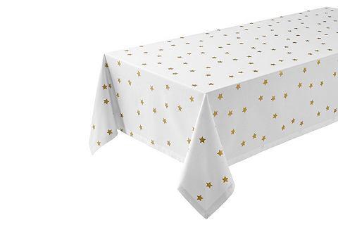 heine home Stolní běhoun bílá/barva zlata cca 180x300 cm