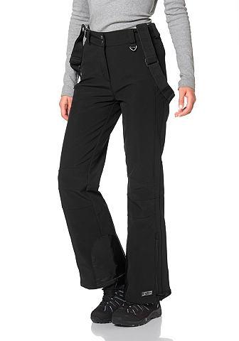 KILLTEC Killtec Natalya Softshellové kalhoty černá - krátké 18