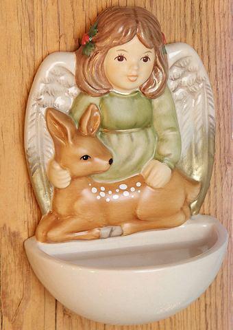 Goebel Nádoba na svěcenou vodu, »strážný anděl zvířat« Goebel malovaná