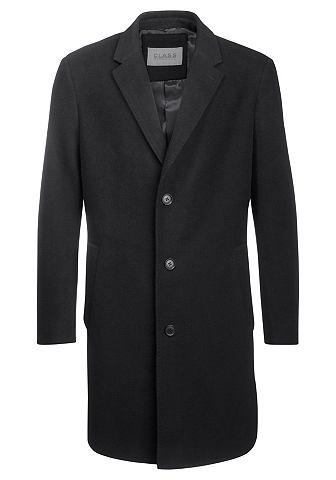 Class international Class International Vlněný kabát černá - standardní velikost 44
