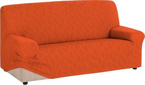 Zebra Textil Potah na pohovku oranžová - Potah na dvojsed�k