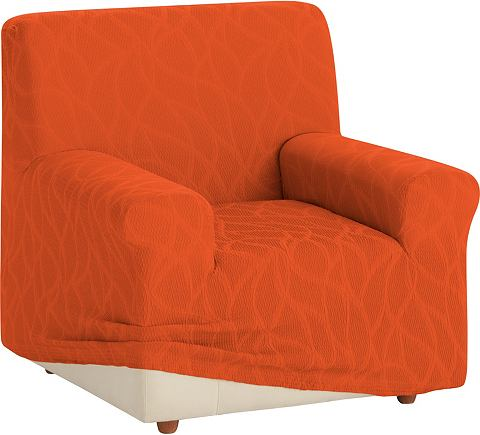 Zebra Textil Potah na křeslo oranžová - židle