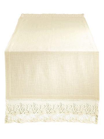 heine home Stolní běhoun bílá - cca 50x150 cm cca 50x150 cm