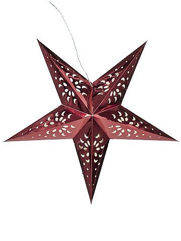 heine home Vánoční dekorace červená - cca 44x44x15 cm VxŠxH cca 44x44x15 cm