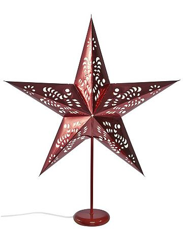 heine home Vánoční dekorace bílá - cca 67x58x23 cm VxŠxH cca 67x58x23 cm