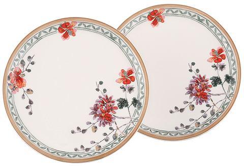 Snídaňové talíře ve 2-dílné sadě, Villeroy & Boch »květinový dekor«