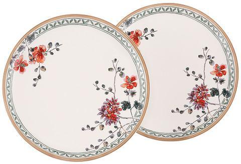 Jídelní talíř ve 2-dílné sadě, Villeroy & Boch »květinový dekor«