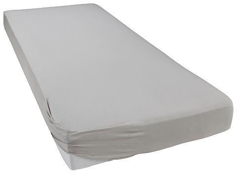 Bellana - jersey Napínací prostěradlo, Bellana rubín - 180–200x200 cm - žerzej