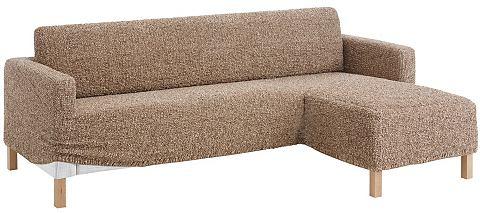 GAICO Gaico Potah na pohovku hnědá - rohová sedačka - z jednoho kusu