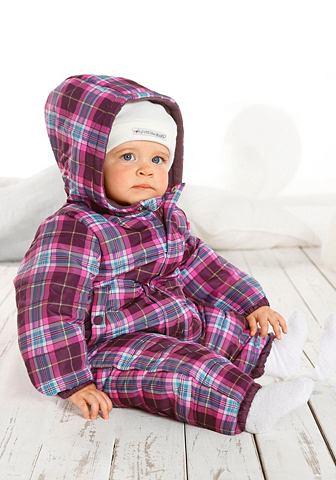 KLITZEKLEIN Zimní kombinéza, pro miminka pink kostková 80