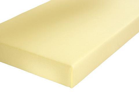 Schlafgut Napínací prostěradlo bílá - Napínací prostěradlo - žerzej cca 200x200 cm