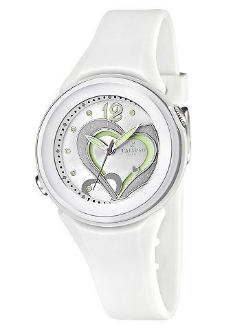 """Calypso CALYPSO WATCHES, Náramkové hodinky, """"K5576/1"""" bílá"""