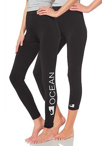 Ocean Sportswear Legíny + capri legíny černá - standardní velikost 46