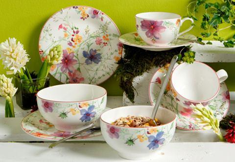 Snídaňový set, z porcelánu Premium, »Mariefleur Basic«, Villeroy & Boch (8 dílů)