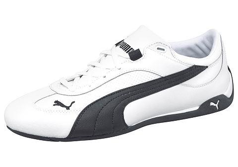 PUMA Tenisky, Puma Fast Cat Leather černá/bílá - standardní velikost 42