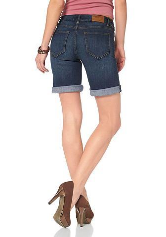 ARIZONA Arizona 5-kapesní džíny tmavě modrá obnošená - standardní velikost 38