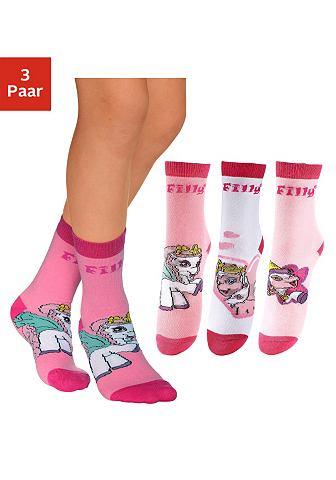 Filly Dětské ponožky, Filly 3ks vzorkovaná - 3ks v balení 31-34