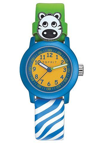 ESPRIT Náramkové hodinky, Esprit zelená/modrá