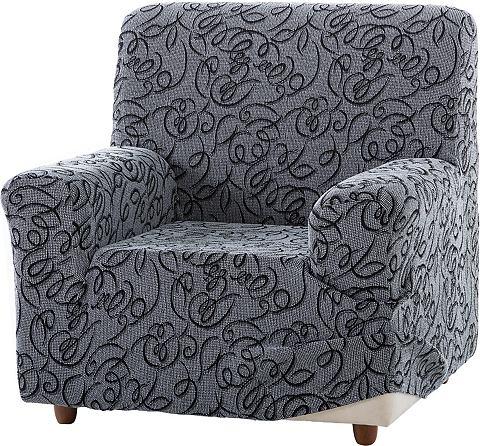 Zebra Textil Potah na křeslo červená - židle
