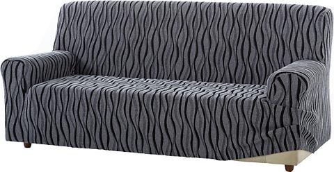 Zebra Textil Potah na pohovku červená - Potah na trojsed�k