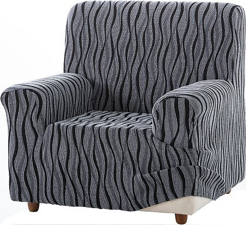 Zebra Textil Potah na křeslo krémová - židle