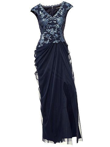 Ashley Brooke by heine Večerní šaty indigová modř - N 42
