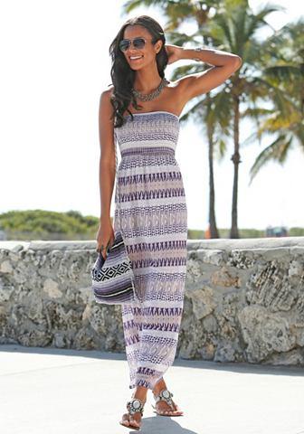 LASCANA LASCANA Letní šaty s potiskem 36