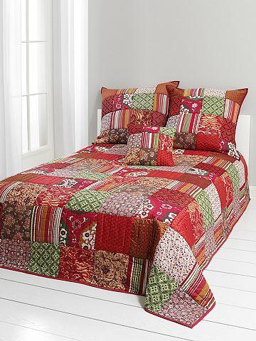 heine home Přehoz, patchwork pestrobarevná - ubrus cca 280x250 cm
