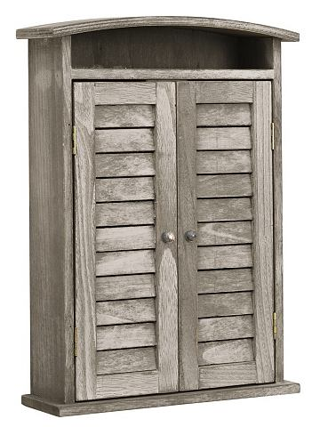 heine home Skříňka na klíče šedá - cca 35x25x8 cm