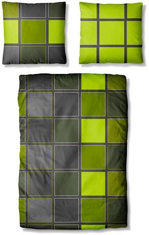 Auro Hometextile Ložní prádlo, Auro zelená - 1 ks 40x80 cm - renforcé 1 ks 135x200 cm