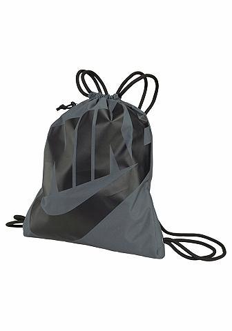 NIKE Nike Taška šedá - standardní velikost
