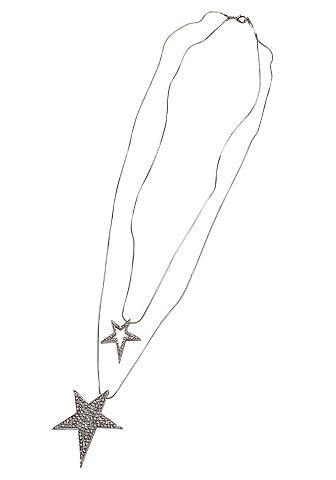 J.Jayz J. Jayz Řetízek stříbrná barva/křišťál - standardní velikost