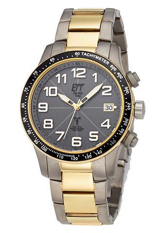 ETT Náramkové hodinky stříbrná/zlatá