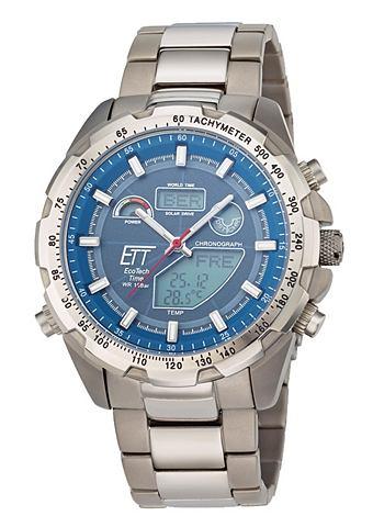 ETT Náramkové hodinky stříbrná barva